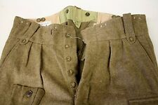 British Army wool battledress trousers NATO size 8