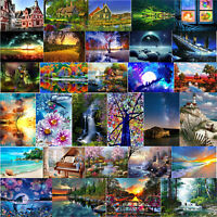 5D DIY Full Drill Diamond Painting Landscape Cross Stitch Embroidery Mosaic Kit