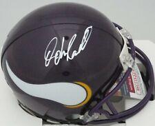 Vikings JOHN RANDLE Signed Riddell Mini Helmet AUTO - HOF 2010 -  JSA!!