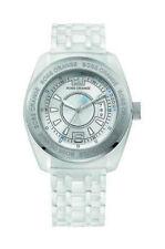Ovale Unisex Armbanduhren aus Edelstahl mit Datumsanzeige