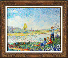 Yvonne Canu Original Oil Painting on Canvas Signed Authentic Landscape Artwork