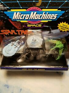 The Original Micro Machines Scale Miniatures Star Trek
