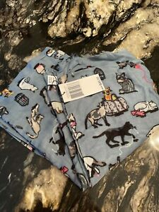 Vera Bradley Cats Meow Fringe Scarf New With Tag