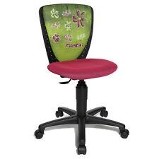Kinder Schreibtischstuhl Stuhl Drehstuhl Topstar S´cool Nic rosa Flowers B-Ware
