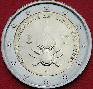 Pièce commémorative neuve de 2 euro ( Italie 2020 )