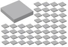 ☀️50x NEW LEGO Medium Stone Grey 2x2 Flat Tiles #3068 light bluish Gray