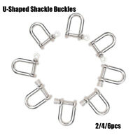 U-Shaped Shackle Buckle Survival Rope Paracords Paracord Bracelets accessories