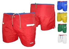 Costume da Bagno Uomo Shorts Mare Boxer Bermuda Piscina con elastico e bottoni