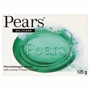 Pears Transparent Lemon Extract Oil Clear Soap 125g x 12