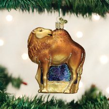 OLD WORLD CHRISTMAS CAMEL CHRISTMAS ORNAMENT 12499