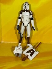 STAR Wars-The Clone Wars loose-Clone Trooper (con Space Gear)