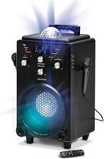 singsation Xl Portable Karaoke System 60 Voice 10 Sound Effects 2 Mics Bluetooth
