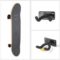 Skateboard Wall Mount Holder Rack Hanger Cover for Longboard Skateboard