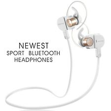 Bluetooth Headphones Wireless Headset Earbuds Music Waterproof iPhone Android