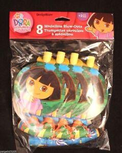 Designware Nickelodeon Dora the Explorer 8 Medallion  Blow-Outs