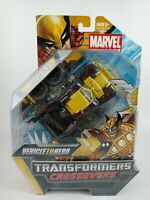 Transformers Marvel Comics Crossovers Wolverine Rally Truck Vehicle to Hero