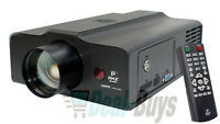 Pyle PRJLE60 LED Projector Up To 100 Inches, HDMI Built-In Stereo Speakers