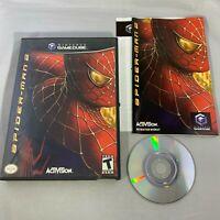 Spider-Man 2 (Nintendo GameCube, 2004) CIB Complete!