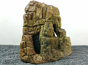 Large Cave Rock Decoration Ornament With Hole to match 3D Rock Backgrounds