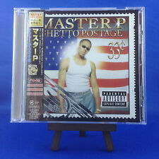 MASTER P: Ghetto Postage (ULTRA RARE JAPANESE PROMO CD OUT OF PRINT)