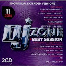 DJ ZONE BEST SESSION 11/2016 doppio CD unmixed selection per DJ originale NUOVO