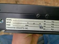 Converter Concepts VT25-343-10/XB Power Supply
