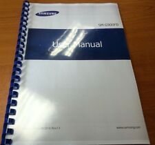 SAMSUNG GALAXY S5 DUAL SIM G900F PRINTED INSTRUCTION MANUAL USER GUIDE 245 PAGES