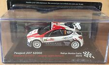 """DIE CAST """" PEUGEOT 207 S2000 RALLY MONTE CARLO - 2010 """" SCALA 1/43"""