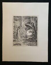 A. Paul Weber, Patient und  […], Lithographie, 1981, aus dem Nachlass, signiert
