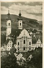 Germany AK Zwiefalten - Kirche 1951 motopfer cover real photo postcard