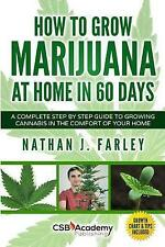 How to Grow Marijuana at Home in 60 Days: A Complete Step by Step Guide to Growi