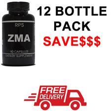 RPS ZMA, Zinc, Magnesium, Vitamin B6, Testosterone Booster 12 BOTTLES