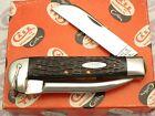 """Case XX USA 6 Dot 1974 6246 R SS """"Rigger's Knife"""" Chestnut Bone Mint Scarce"""