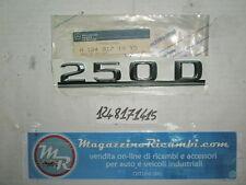 SCRITTA COFANO POSTERIORE RICAMBIO ORIGINALE MERCEDES 250 D CODICE 1248171415