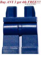 ☀️NEW Lego Legs Pants MINIFIGURE MINIFIG DARK BLUE BOY GIRL Star Wars Plain