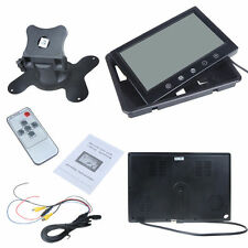 "9"" TFT LCD Car Rearview Color Monitor for VCD DVD GPS Camera + IR Remote Control"