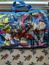 Tensei Sentai Goseiger children's print Power Rangers Megaforce bag