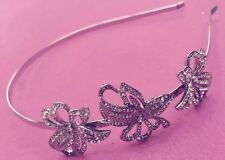 NEW WOMEN'S THE EARRING BOUTIQUE SWAROVSKI ELEMENTS BRIDE HAIR BAND - RRP - £85