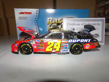 1/24 JEFF GORDON #24 DUPONT BRUSHED METAL  2004 ACTION NASCAR DIECAST