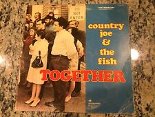 COUNTRY JOE & THE FISH TOGETHER 1ST PRESS 1968 RARE OOP VG COVER/VG- VINYL LP