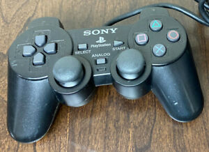 Official Sony PlayStation 2  DualShock 2 Black PS2 Controller