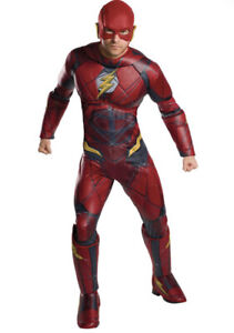 Justice League Flash Adult Plus Costume (plus Size) By Rubies
