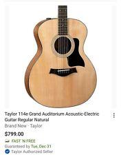 Taylor 114 Acoustic electric Guitar