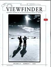 Leica Viewfinder Magazine Volume 41 Number 1 2008 Eric Baker EX 032817lej