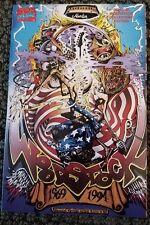 Marvel Music Woodstock 94 The Comic 1st Print Trade Paperback  1994