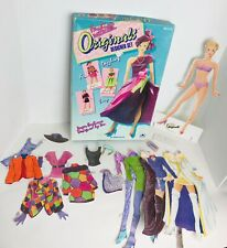 Vintage 1991 Golden Fashion Model Originals Designer Set Doll Kit Paper Doll