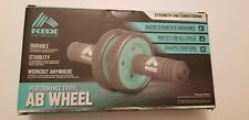 RBX Performance Travel AB WHEEL Dual Roller Abdominal Fitness Gym Exercise Core