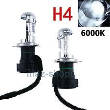 2PCS H4 Bi-Xenon Hi/Lo Beam 6000K 35W Xenon HeadLights HID Replacement Bulbs AC