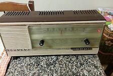 RADIO A VALVOLE NUCLEAR  PRANDONI CON FM PRESA FONO FUNZIONANTE PERFETTAMENTE .