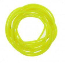 12 Pack Jelly Neon Yellow Gummy Bangles Bracelets Wristbands 80's Fancy Dress